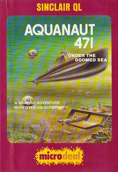 Packaging for Sinclair QL Aquanaut 471