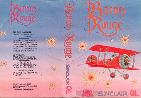 Packaging for Sinclair QL Baron Rouge