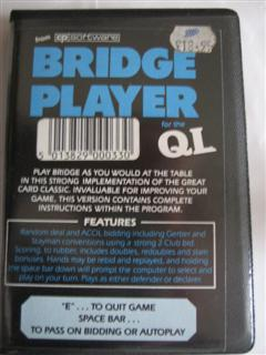 Packaging for Sinclair QL Bridge Player