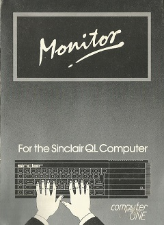 Packaging for Sinclair QL Computer One Monitor