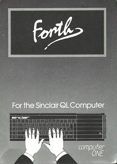 Packaging for Sinclair QL Computer One Forth
