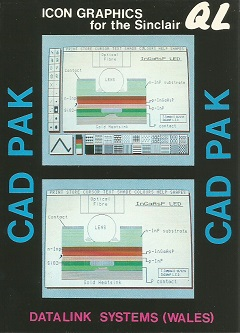 Packaging for Sinclair QL CAD PAK