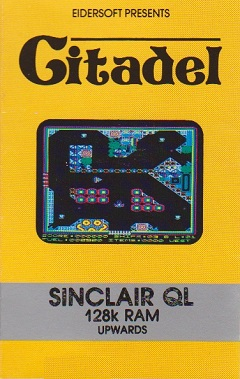 Packaging for Sinclair QL Citadel