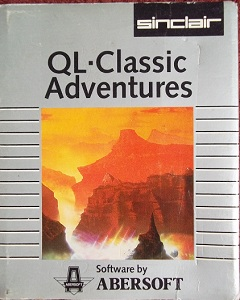 Packaging for Sinclair QL Classic Adventures