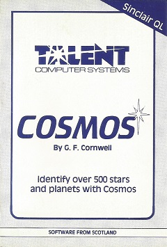 Packaging for Sinclair QL Cosmos