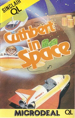 Packaging for Sinclair QL Cuthbert in Space