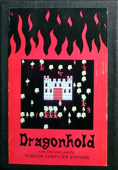 Sinclair QL Dragonhold by Rubicon Computer Systems
