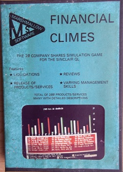 Sinclair QL Financial Climes by Marshmallow Software