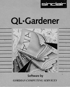 Packaging for Sinclair QL Gardener