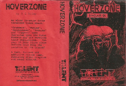 Inlay for Sinclair QL Hoverzone