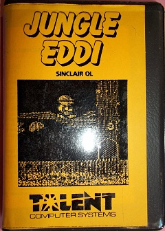 Packaging for Sinclair QL Jungle Eddi