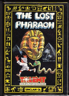 Packaging for Sinclair QL The Lost Pharaoh