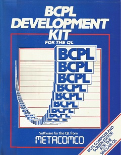 Packaging for Sinclair QL BCPL Development Kit