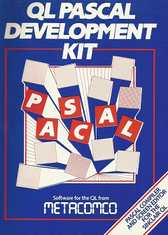 Packaging for Sinclair QL PASCAL Development Kit