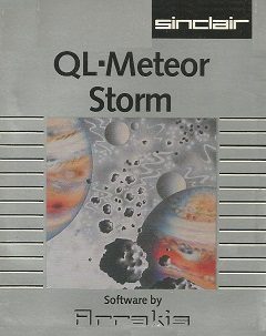 Packaging for Sinclair QL Meteor Storm
