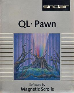 Packaging for Sinclair QL Pawn Adventure