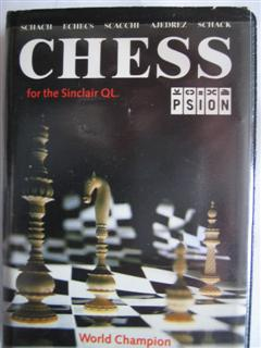Packaging for Sinclair QL Psion Chess