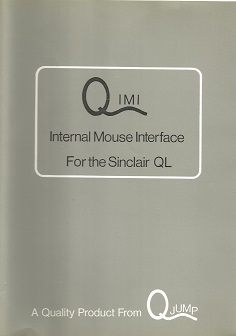 Packaging for Sinclair QL QIMI Mouse Interface by QJump