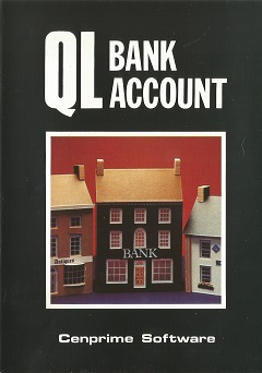 Packaging for Sinclair QL Bank Account