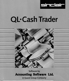 Packaging for Sinclair QL Cash Trader
