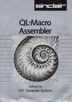 Packaging for Sinclair QL Macro Assembler by GST