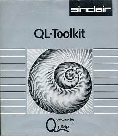 Packaging for Sinclair QL Toolkit