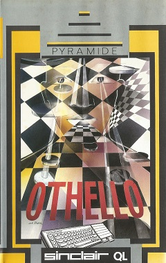 Packaging for Sinclair QL Othello by Pyramide