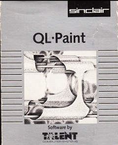 Packaging for Sinclair QL Paint