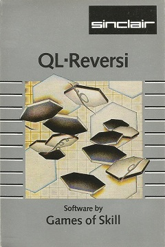 Packaging for Sinclair QL Reversi