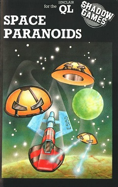Packaging for Sinclair QL Space Paranoids