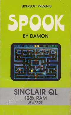 Packaging for Sinclair QL Spook