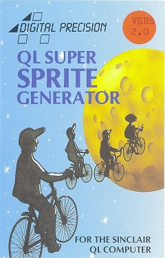 Packaging for Sinclair QL Super Sprite Generator