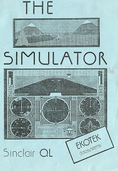 Sinclair QL The Simulator by Ekotek Datasystems