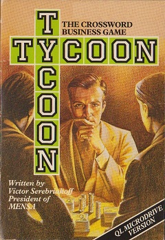 Packaging for Sinclair QL Tycoon