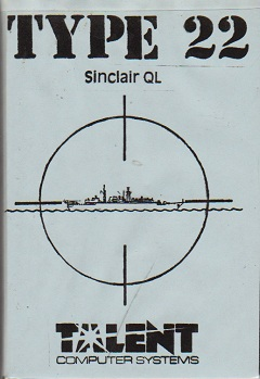 Packaging for Sinclair QL Type 22
