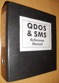 QDOS & SMS Reference Manual by Jochen Merz