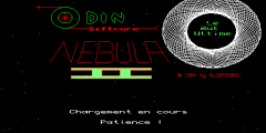 Screenshot of Sinclair QL Nebula II by Pyramide