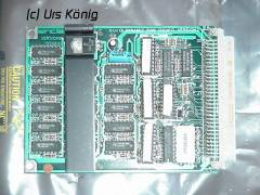 Sinclair QL 128K RAM expansion card