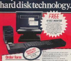 Medic Disk and Winchester Hard Disk Advert