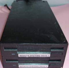"Miracle Systems Dual 3.5"" Floppy Disk Drive"