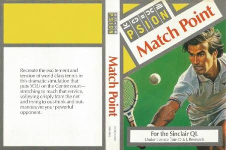 Sinclair QL Match Point by Psion