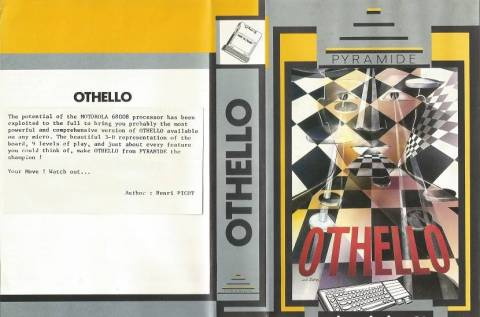 Inlay for Sinclair QL Othello